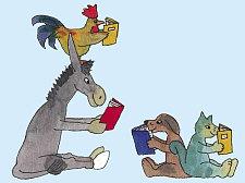 Lesen fördert das Sprachvermögen und regt die Kreativität an