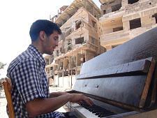 Pianist Aeham Ahmad erlangte als