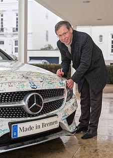 Bürgermeister Carsten Sieling unterstützt das Bremer Bündnis