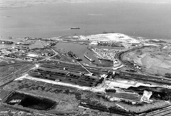 Mit dem Bau des Containerterminals I begann vor 50 Jahren der Aufstieg Bremerhavens zu einem Welthafen