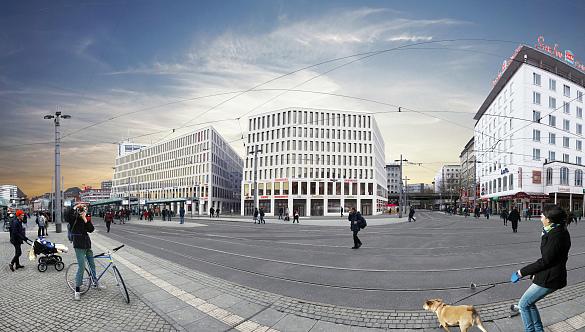 So wird sich das City Gate ab dem Frühjahr 2019 den Bremerinnen und Bremern sowie den Gästen der Stadt präsentieren | Grafik: Achim Griese Servicgesellschaft mbH, jpeg, 134.8KB