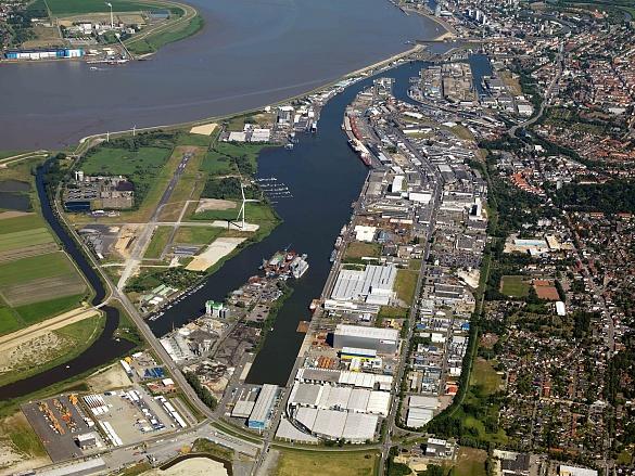 Der landeseigene Fischereihafen Bremerhaven verfügt über eine Landfläche von rund 465 Hektar, die von der FBG gemanagt und bewirtschaftet wird. , jpg, 205.3KB