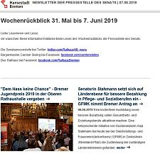 Screenshot des Newsletters vom 07. Juni 2019, JPG, 21.2 KB