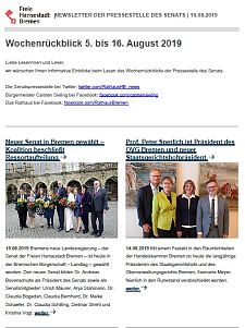 Screenshot des Newsletters vom 16. August 2019, JPG, 27.9 KB