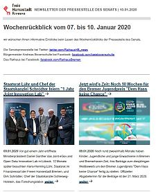 Screenshot des Newsletters vom 10. Januar 2020, JPG, 26.4 KB