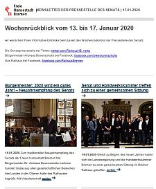 Screenshot des Newsletters vom 17. Januar 2020, JPG, 25.8 KB