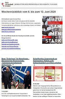 Screenshot des Newsletters vom 12. Juni 2020, JPG, 30.7 KB